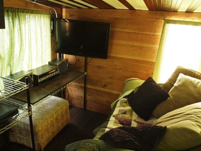 Impressive 156sf Tiny Home Built From Salvaged Material