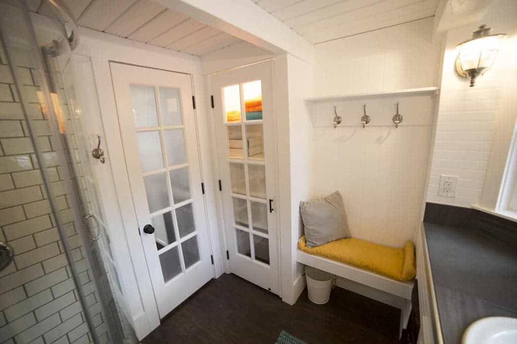 Tiny Home Bathroom Design: Every Detail In This Tiny House Is Just Perfect...but That