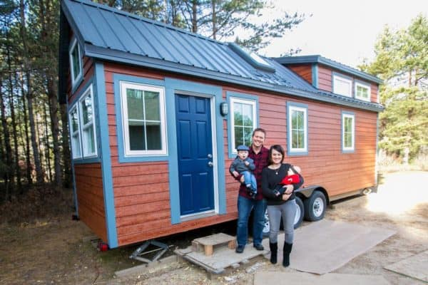 This Family Sold Their Big House To Live Tiny