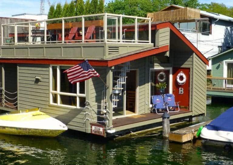 Gorgeous Half Million Dollar Houseboat Sells In Seattle