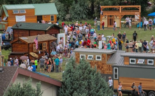 Tiny House Jamboree Crowd