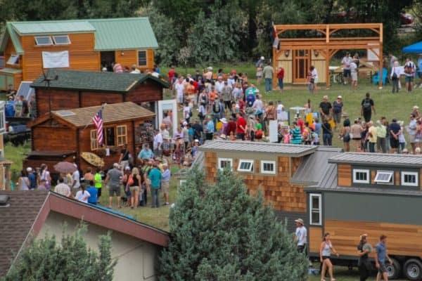 Tiny House Jamboree Crowd