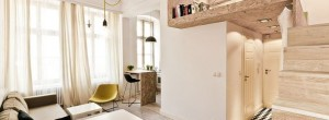 Smart design makes a 19th century apartment function in the modern world