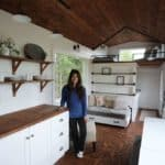 Furniture design helps fit a family into 204 square feet