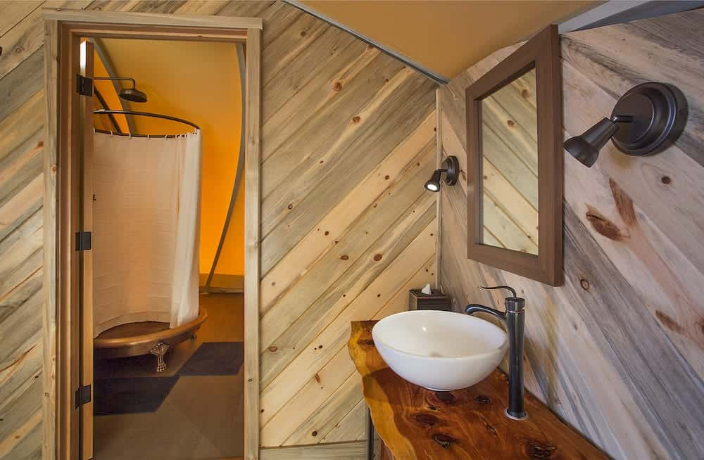 Luxurious off-grid glamping in Big Sur