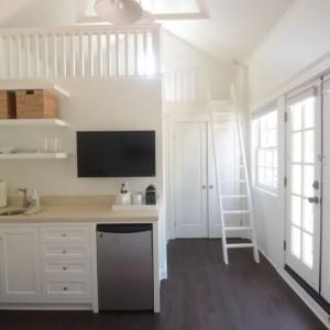 Sleek Classy Dragonfly Tiny Home With Folding Porch