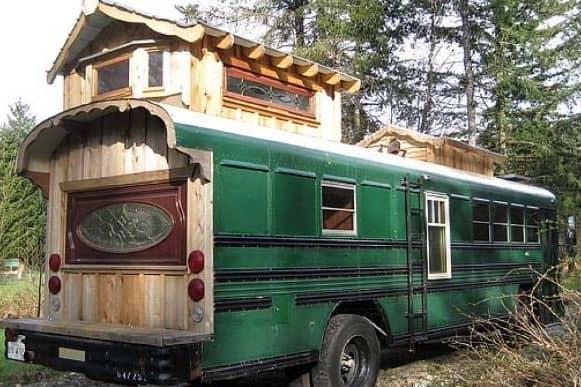 Green Cedar Bus 1