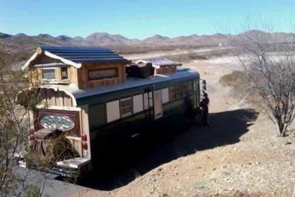 Green Cedar Bus 2