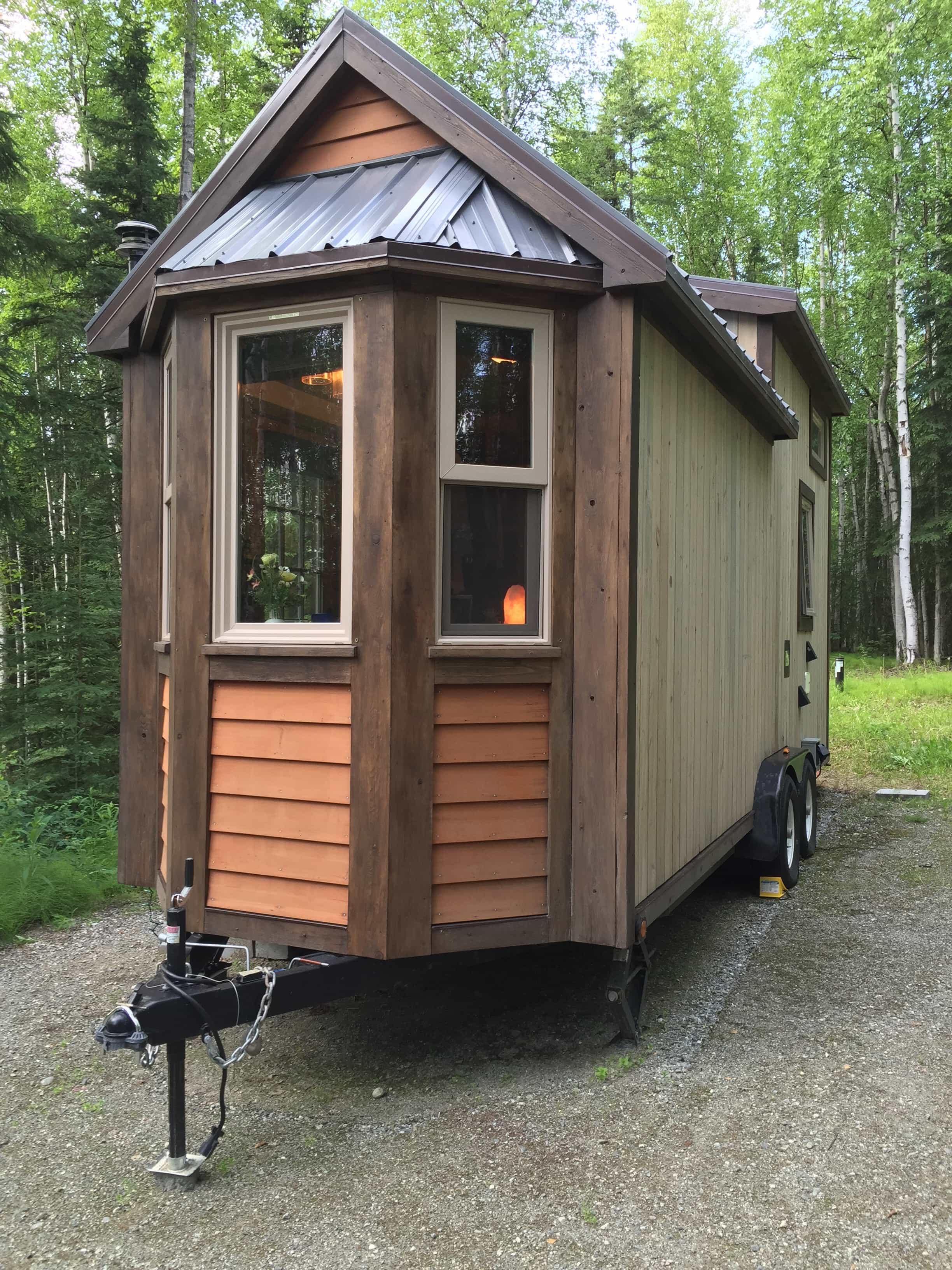 Tiny house on wheels in Alaska Tiny House for Us