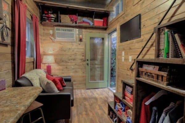 Log Cabin Shipping Container 2