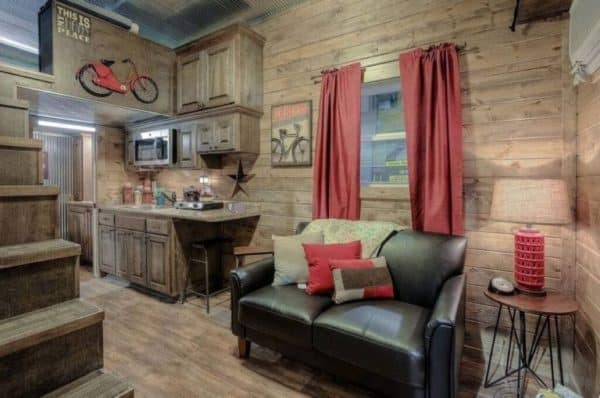 Log Cabin Shipping Container 3