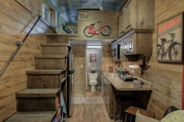 Log Cabin Shipping Container 4