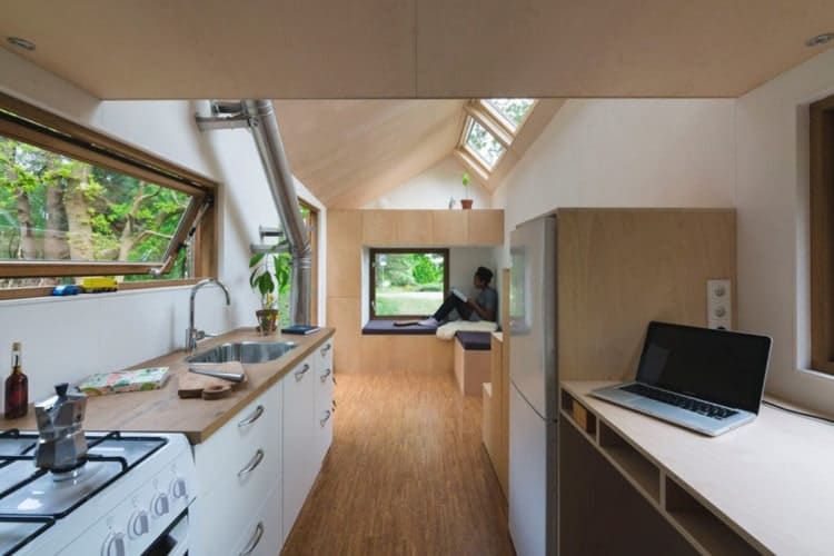 Tiny Home Designs: True Off-grid Living In A Stylish Dutch Tiny House