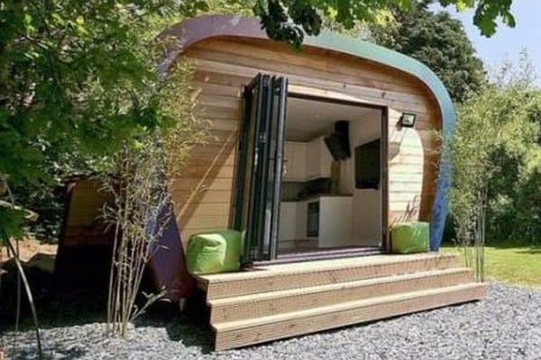 Pod Living's stylish studio pod: eco with élan