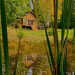 A vacation cottage with a private pond and so much more