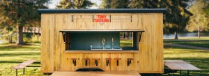 Tiny tavern brings a full bar to your yard