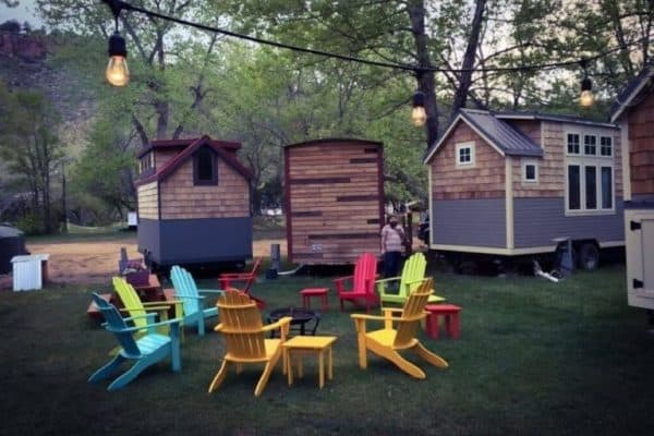 WeeCasa: a small town tiny house hotel in the Rockies
