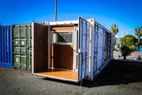 Evans Shipping Container 1