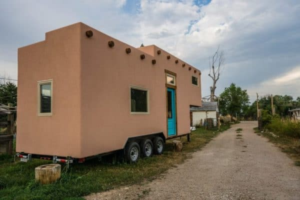 MitchCraft's unique adobe THOW is for sale as a shell