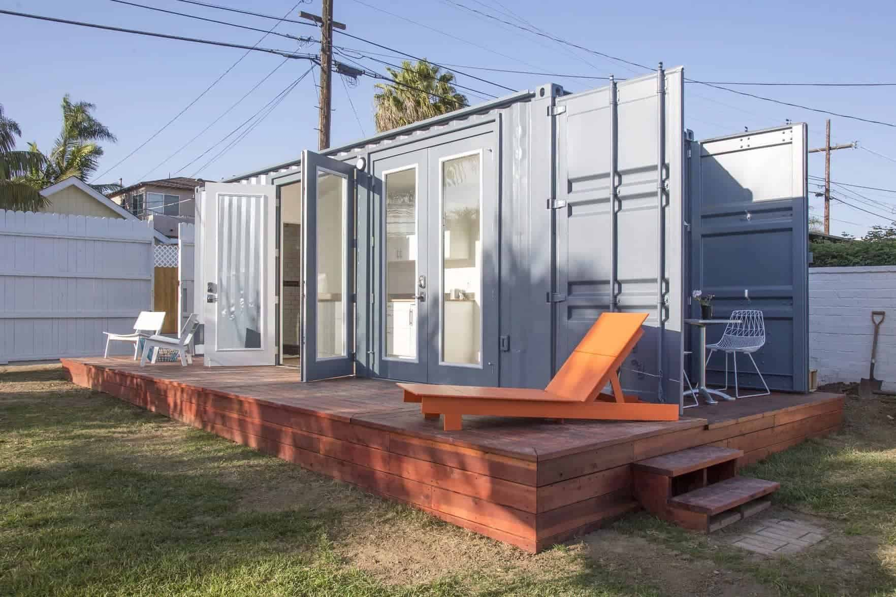 Montaineer makes it easy prefab shipping container homes for Prefabricated shipping container homes