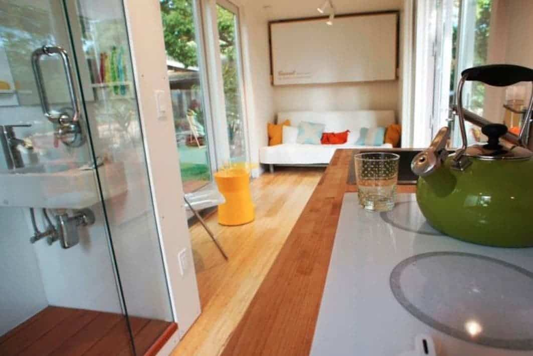 Montaineer makes it easy prefab shipping container homes - Shipping container bathroom design ...