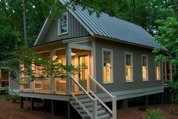 Pine Mountain's big-footprint, low-impact Callaway cottage