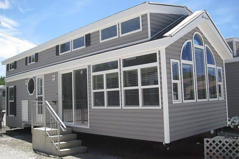 Park models perfected over 70 years in the business tiny house for