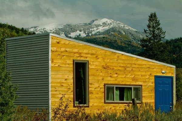 An innovative owner-built steel-frame THOW from Idaho