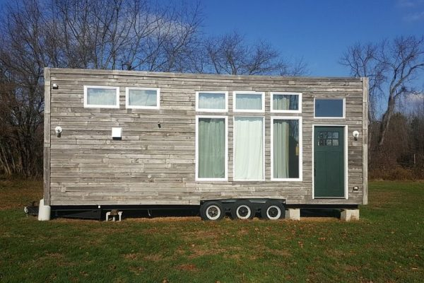 Loaded, livable, low-cost THOW with solid SIP construction