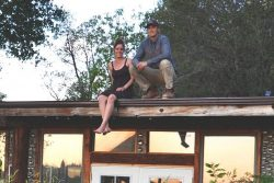 See how Earthship concepts gave this CA couple a beautiful, passive home for under $10K