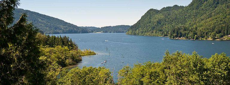 Washington State's Whatcom Lake