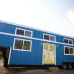 Nomad's bright blue birthday build is big enough for a family of five