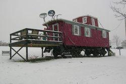 Marcia's cozy caboose