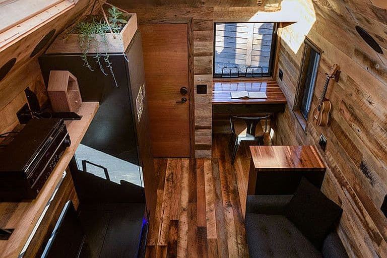 A High Tech Rustic Vacation Cabin In West Seattle