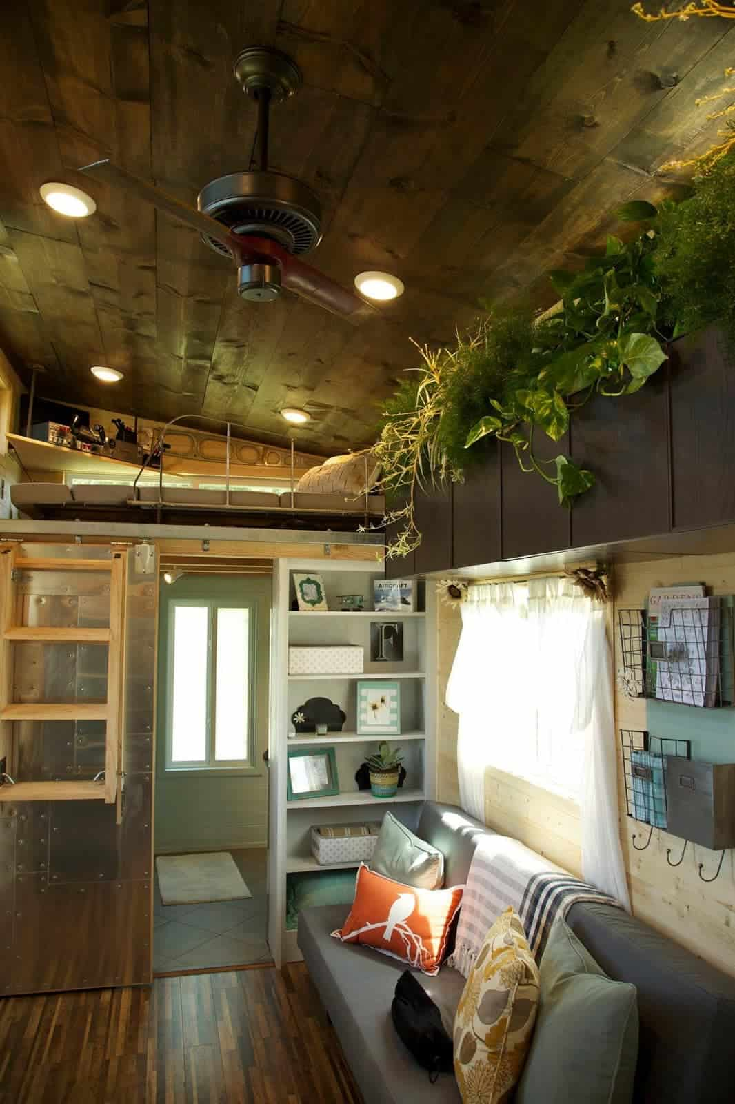 House For Flight Enthusiast Couple Features Built In
