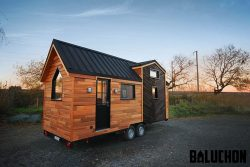Baluchon's Calypso fits a first-floor bedroom into a 22-foot family home