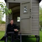 David Cameron's Red Sky Shepherds Hut