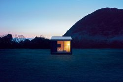 Muji Huts now available at tiny house village; enter full release in fall