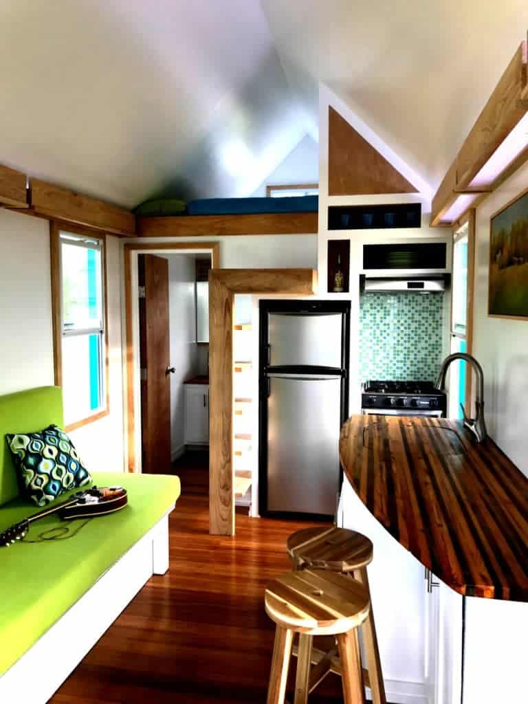 Lightweight Sip House Holds 3 Beds And A Full Bathroom