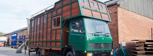 HouseBox's all-wood house truck
