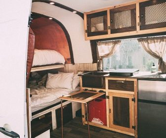 Solar-powered Sprinter conversion sleeps four