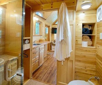 Rusty Galbreath's premier tiny house