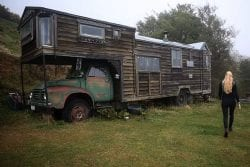 How a widowed East German artist found a new life in a New Zealand house truck
