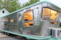 Vintage RV remodel keeps the period look, updates the tech