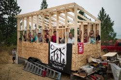 Tiny House Warriors take on the Trans Mountain pipeline