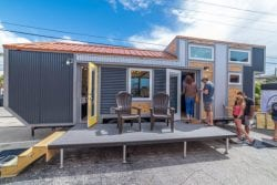 Absolutely alluring 330sf Henderson Tiny Home by Movable Roots