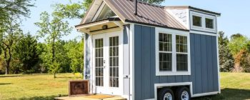 Adorable Little 16-foot Cottage On Wheels