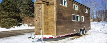 A modern, open 24-footer from Global Tiny Houses