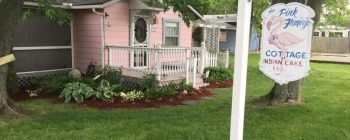 The Pink Flamingo Cottage is a great example of great value in vintage small houses