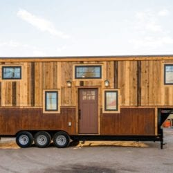 "A ""Giant"" Tiny House – 35′ Gooseneck by Mitchcraft"
